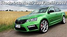 Skoda Octavia Rs 230 Dsg Facelift 2017 230hp Sound
