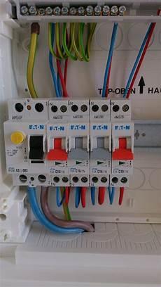 tableau electrique raccordement le branchement du tableau 233 lectrique divisionnaire