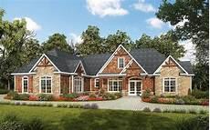 craftman home plans one level luxury craftsman home 36034dk architectural