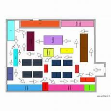 plan de magasin plan du magasin avec le sens de circulation plan 1 pi 232 ce