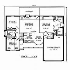 3 garage house plans awesome three bedroom house plans with garage new home