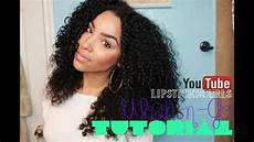 naturally curly hair wash and how to style naturally curly hair wash n go routine using a diffuser youtube