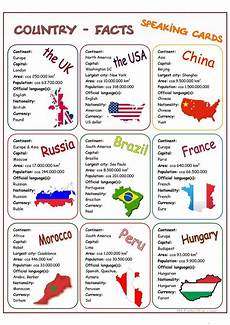 country facts speaking cards worksheet free esl printable worksheets made by teachers ingles