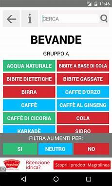 alimenti per gruppo sanguigno dieta gruppo sanguigno app android su play