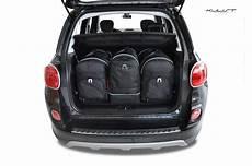 kofferraumtasche kjust fiat 500l 2012 car bags set