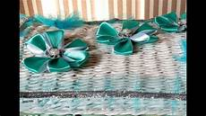 D I Y Easy Satin Ribbon Flower Tutorial How To