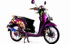 Scoopy Modifikasi Standar by Kumpulan Gambar Modifikasi Scoopy Airbrush Thailook Velg