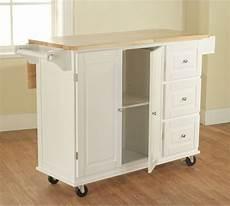 Kitchen Storage Tables white kitchen cart w storage wood drop leaf island serving