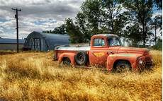 Rustic Truck Background