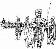 desenho de tropa romana para colorir e imprimir