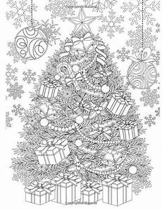 tree and accessories coloring book