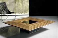 table de salon contemporaine table basse bois contemporaine design en image