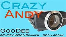goodee led beamer review test