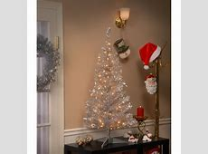 The Holiday Aisle Tinsel Trees 4' Silver Artificial