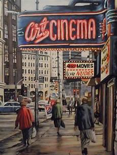 arte cinema cinema painting by guentner