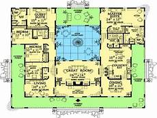 spanish style house plans with courtyard spanish house plans with inner courtyard plougonver com