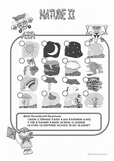 nature elements worksheets 15116 nature elements air matching worksheet free esl printable worksheets made by teachers