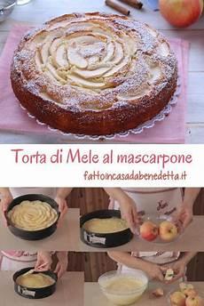 torta di mele al mascarpone fatto in casa da benedetta torta di mele al mascarpone ricetta cottura del pane dolci con mascarpone e torta di mele