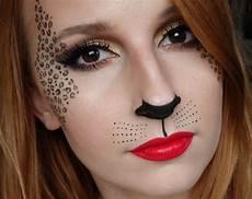 leoparden augen schminken leopard schminken ideen f 252 r leopard gesichtsbemalung zum