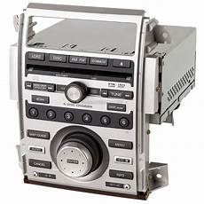 2005 acura rl radio or player am fm xm mp3 radio and 6 disc dvd changer with face code