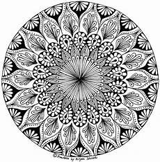 Ausmalbilder Zum Ausdrucken Mandala Pin Auf Malen