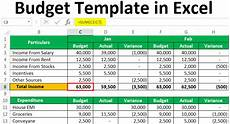 personal budget template in excel exle download