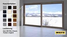 terrassenfenster mit schiebetür weru gmbh hebeschiebet 252 r bedienkomfort auf h 246 chstem