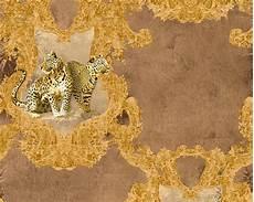 leoparden tapete tapete vlies leoparden braun glanz hermitage 33543 3