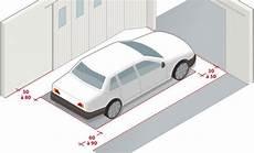 largeur d une voiture concevoir un garage aux bonnes dimensions
