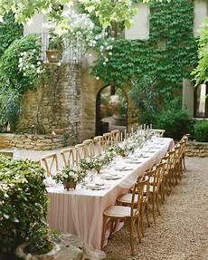 outdoor wedding table 42 stunning banquet tables for your reception martha