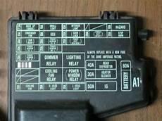99 honda accord fuse box find 1992 1993 honda accord underhood relay fuse box w lid fuses oem 92 93 motorcycle