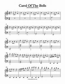 carol of the bells sheet music piano advanced free piano arrangement sheet music carol of the bells michael kravchuk