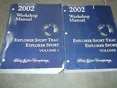manual repair free 2007 ford explorer sport trac engine control 2002 ford explorer sport trac service shop repair manual set factory 02 books ebay