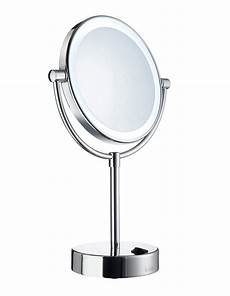 smedbo outline free standing led and make up mirror