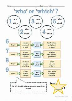 who or which worksheet free esl printable worksheets