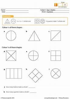 fraction worksheets half 3953 fractions primaryleap co uk