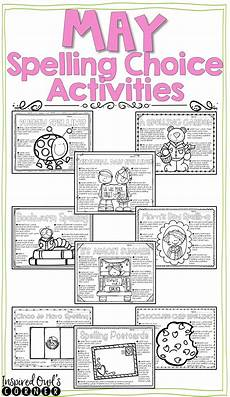 spelling worksheets using your own words 22514 spelling activities for any list of words may spelling activities classroom activities