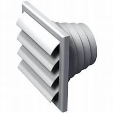 grille de ventilation volet anti retour vpa 186 x 186 mm