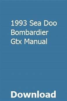 car repair manuals online free 1993 volvo 960 electronic valve timing 1993 sea doo bombardier gtx manual repair manuals chilton repair manual chilton manual