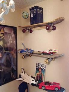 Recycling Skateboards Shelves Racks Chairs
