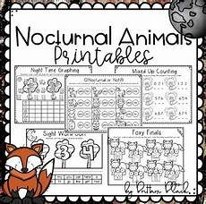 nocturnal animals worksheets 13983 nocturnal animals printables by brittani black tpt