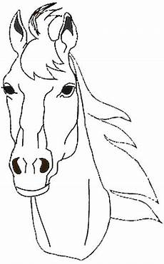 Malvorlage Pferd Umriss Ausmalbilder Pferdekopf Ausdrucken Ausmalbilder