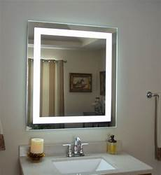 mam83236 32 quot wide x 36 quot tall lighted vanity mirror led makeup mirror ebay