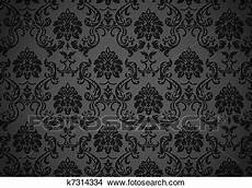 Drawings Of Baroque Wallpaper K7314334 Search Clip