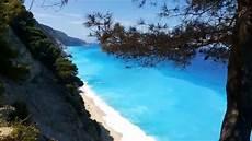 best beaches in greece egremni beach leukada youtube