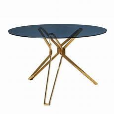 runder glastisch moderner runder glastisch pols potten studio bei pamono