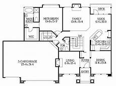 rambler ranch house plans classic rambler floor plans by builderhouseplans http