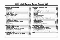 download car manuals 2009 gmc savana on board diagnostic system 2009 gmc savana owners manual just give me the damn manual
