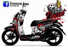 Stiker Motor Beat Keren by Cutting Sticker Honda Scoopy 1 Dbs Cutting Sticker 3d