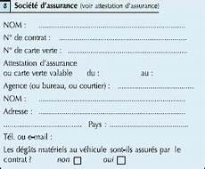 Carte Verte Assurance Vierge A Imprimer Teenzstore